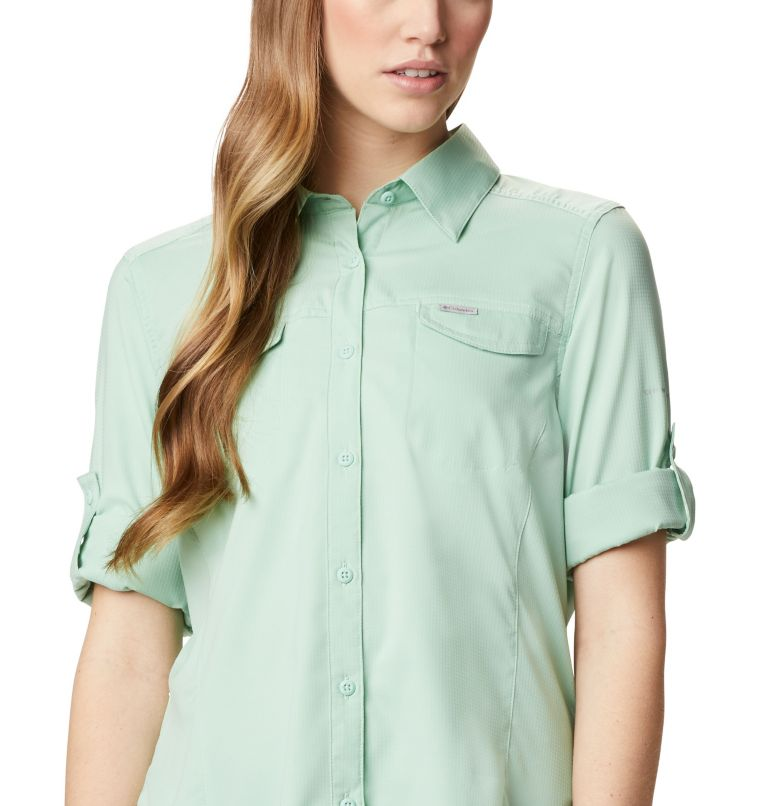 Silver Ridge™ Lite Long Sleeve Shirt | 384 | XL Women's Silver Ridge™ Lite Long Sleeve, New Mint, a2