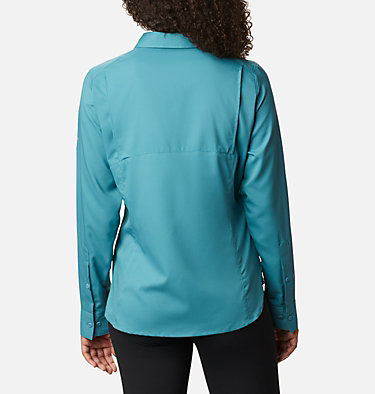 Women's Silver Ridge™ Lite Long Sleeve Silver Ridge™ Lite Long Sleeve Shirt | 549 | L, Canyon Blue, back