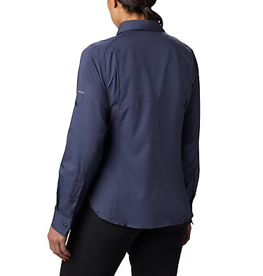 Women's Silver Ridge™ Lite Long Sleeve Silver Ridge™ Lite Long Sleeve Shirt | 472 | L, Nocturnal, back