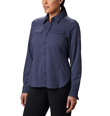 Women's Silver Ridge™ Lite Long Sleeve Silver Ridge™ Lite Long Sleeve Shirt | 549 | L, Nocturnal, front