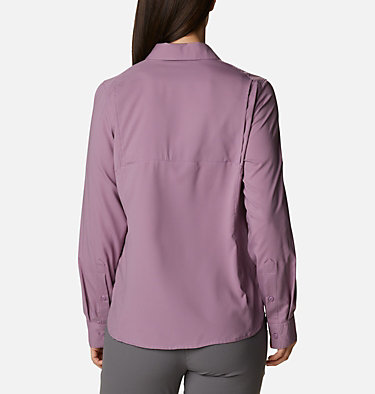 Women's Silver Ridge™ Lite Long Sleeve Silver Ridge™ Lite Long Sleeve Shirt | 549 | L, Winter Mauve, back