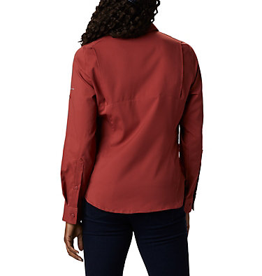 Women's Silver Ridge™ Lite Long Sleeve Silver Ridge™ Lite Long Sleeve Shirt | 549 | L, Dusty Crimson, back