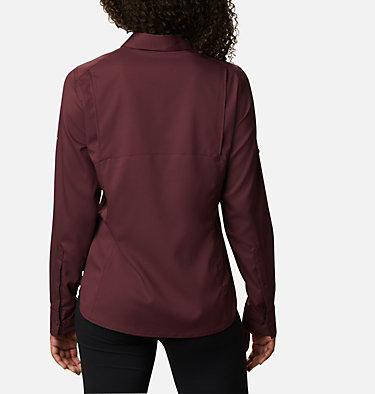 Women's Silver Ridge™ Lite Long Sleeve Silver Ridge™ Lite Long Sleeve Shirt | 472 | L, Malbec, back