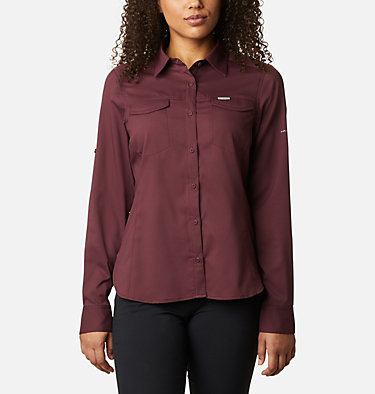 Women's Silver Ridge™ Lite Long Sleeve Silver Ridge™ Lite Long Sleeve Shirt | 472 | L, Malbec, front