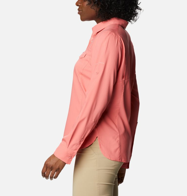 Silver Ridge™ Lite Long Sleeve Shirt | 699 | M Women's Silver Ridge™ Lite Long Sleeve, Salmon, a1
