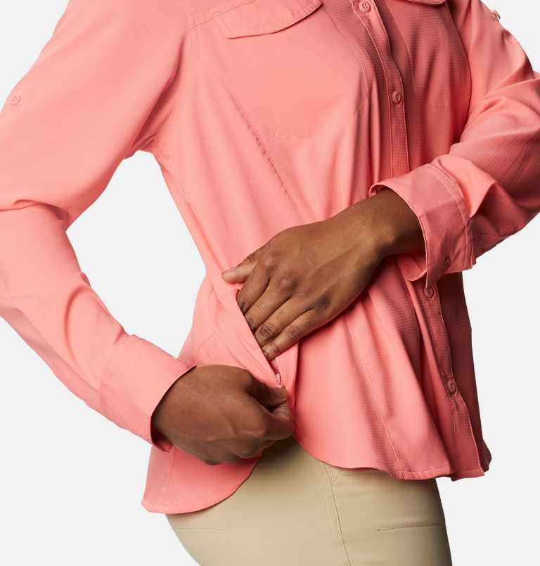 Silver Ridge™ Lite Long Sleeve Shirt | 699 | M Women's Silver Ridge™ Lite Long Sleeve, Salmon, a4