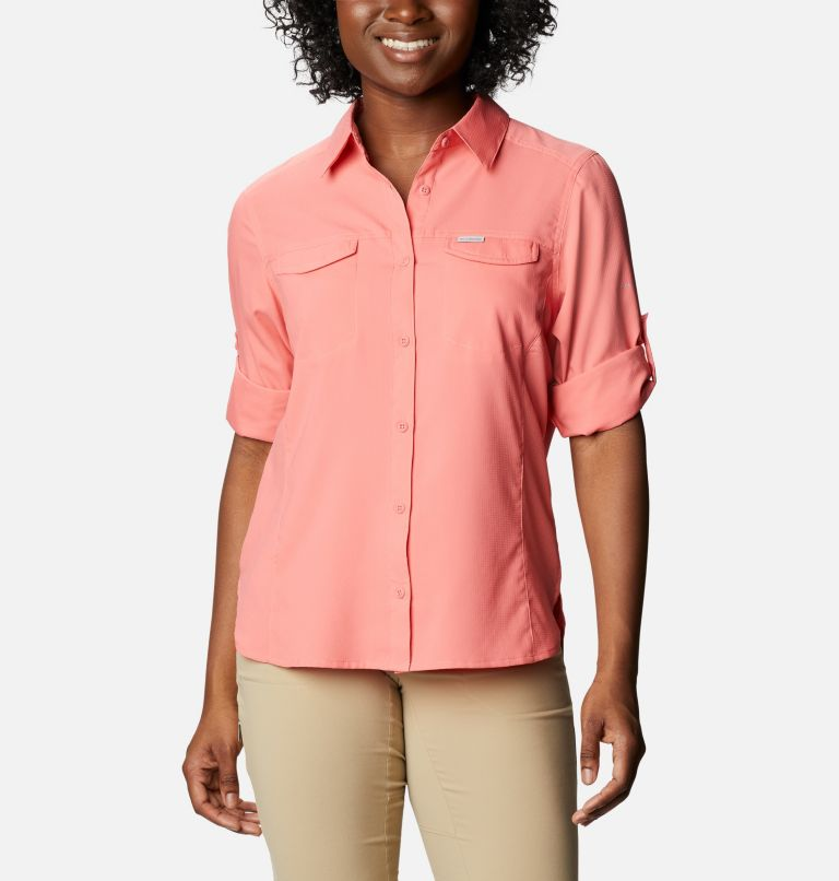 Silver Ridge™ Lite Long Sleeve Shirt | 699 | M Women's Silver Ridge™ Lite Long Sleeve, Salmon, a5