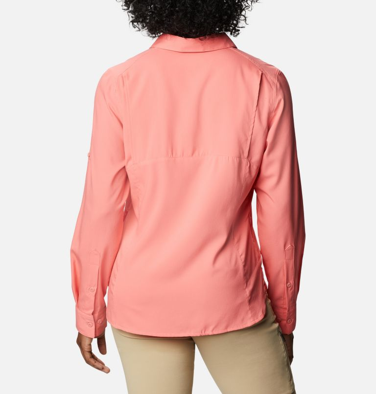 Silver Ridge™ Lite Long Sleeve Shirt | 699 | M Women's Silver Ridge™ Lite Long Sleeve, Salmon, back