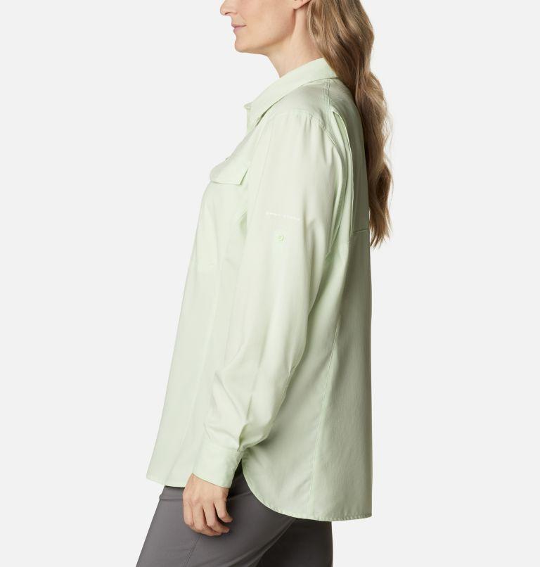 Silver Ridge™ Lite Long Sleeve Shirt | 313 | 2X Women's Silver Ridge™ Lite Long Sleeve Shirt - Plus Size, Light Lime, a1