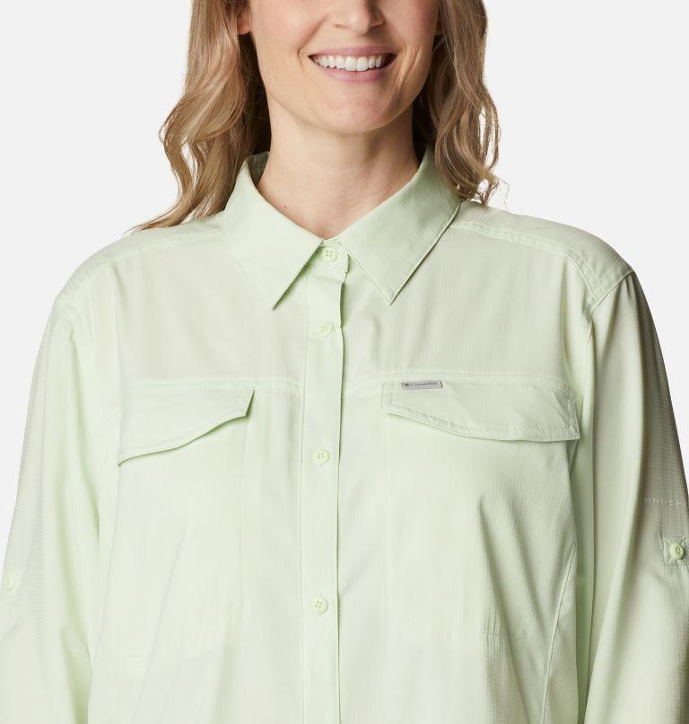 Silver Ridge™ Lite Long Sleeve Shirt | 313 | 2X Women's Silver Ridge™ Lite Long Sleeve Shirt - Plus Size, Light Lime, a2