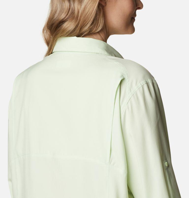 Silver Ridge™ Lite Long Sleeve Shirt | 313 | 2X Women's Silver Ridge™ Lite Long Sleeve Shirt - Plus Size, Light Lime, a3