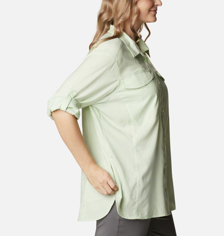 Silver Ridge™ Lite Long Sleeve Shirt | 313 | 2X Women's Silver Ridge™ Lite Long Sleeve Shirt - Plus Size, Light Lime, a4