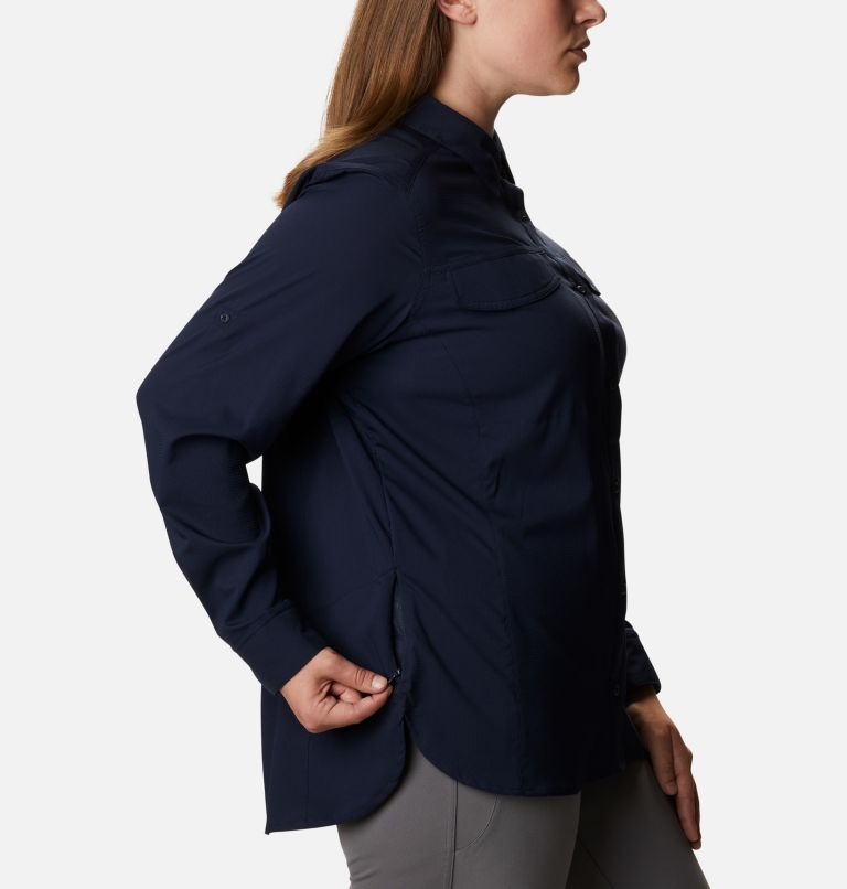 Women's Silver Ridge™ Lite Long Sleeve Shirt - Plus Size Women's Silver Ridge™ Lite Long Sleeve Shirt - Plus Size, a4