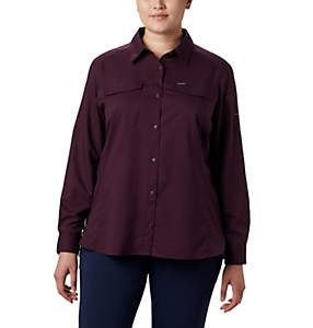 Women's Silver Ridge™ Lite Long Sleeve Shirt - Plus Size