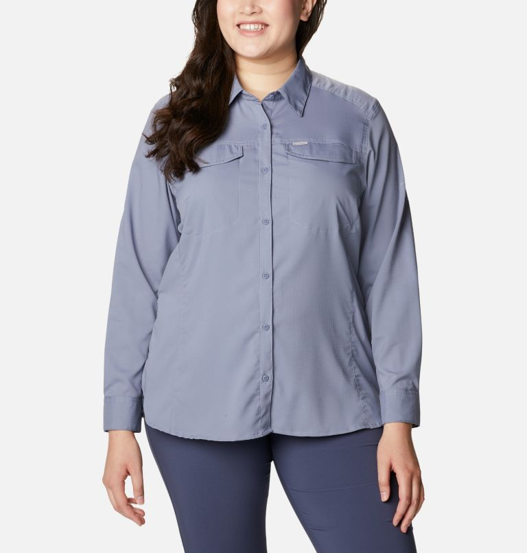 Women's Silver Ridge™ Lite Long Sleeve Shirt - Plus Size Women's Silver Ridge™ Lite Long Sleeve Shirt - Plus Size, front