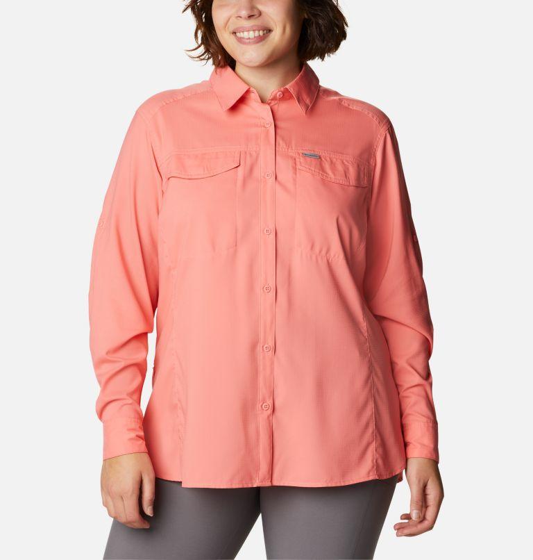 Women's Silver Ridge™ Lite Long Sleeve Shirt - Plus Size Women's Silver Ridge™ Lite Long Sleeve Shirt - Plus Size, front