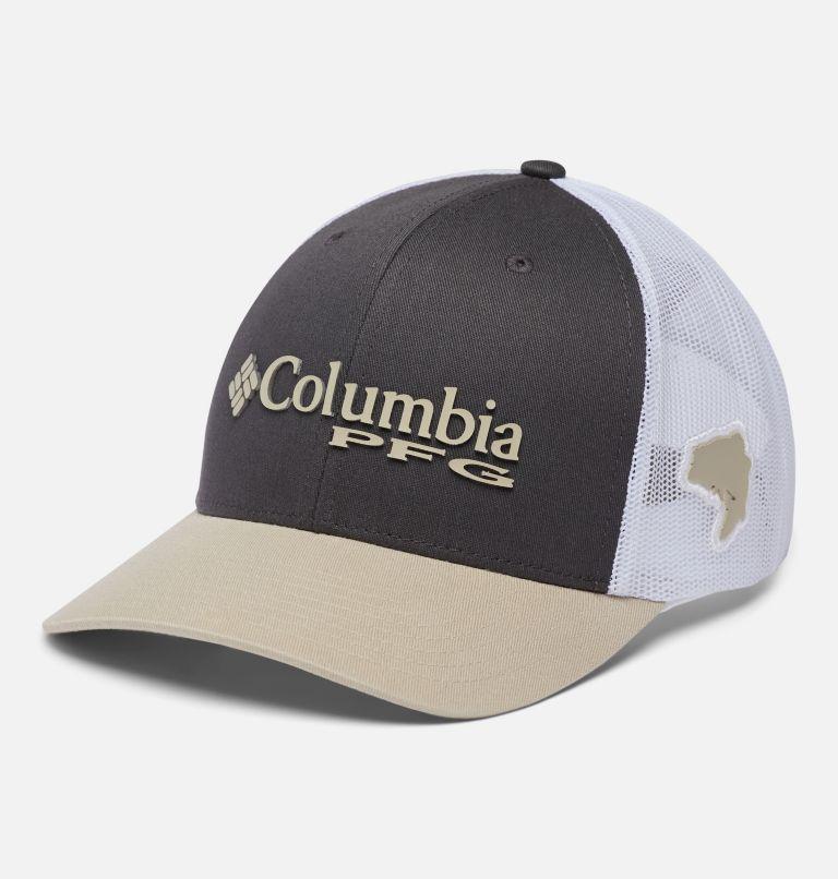 PFG Mesh Snap Back™ Ball Cap | 326 | O/S PFG Mesh Snap Back™ Ball Cap, Alpine Tundra, Fossil, Bass, front