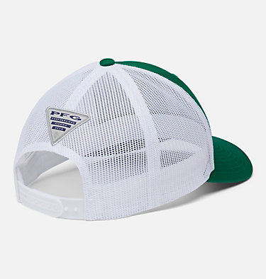 PFG Mesh Snap Back™ Ball Cap PFG Mesh Snap Back™ Ball Cap | 374 | O/S, Emerald Green, Vivid Blue, Marlin, back