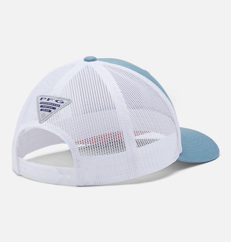 PFG Logo™ Mesh Snap Back - High   447   O/S PFG Mesh Snap Back™ Ball Cap, Storm, Bright Nectar, Bass, back