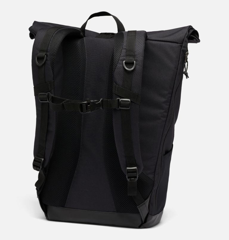 Convey™ 25L Rolltop Daypack | 011 | O/S Unisex Convey 25 Liter Rolltop Daypack, Black, Black, back