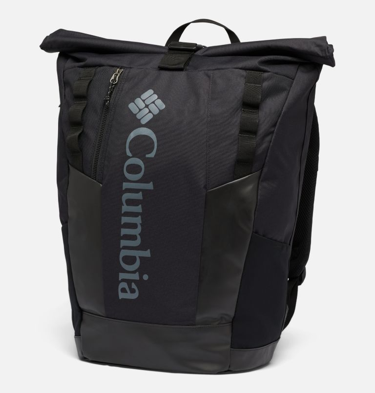 Convey™ 25L Rolltop Daypack | 011 | O/S Unisex Convey 25 Liter Rolltop Daypack, Black, Black, front