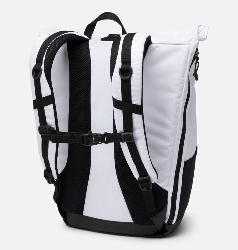Convey™ 25L Rolltop Daypack | 100 | O/S Unisex Convey 25 Liter Rolltop Daypack, White, back