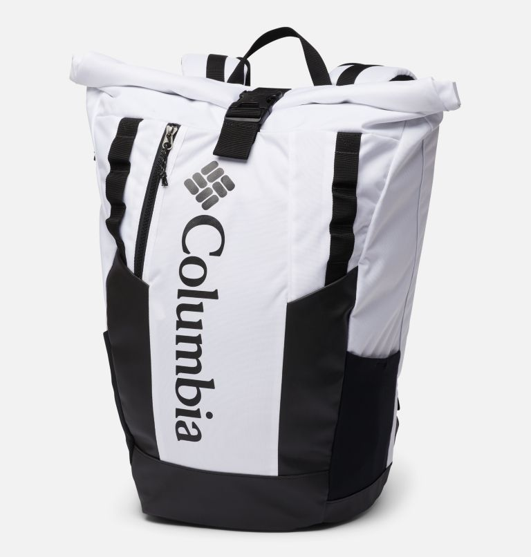 Convey™ 25L Rolltop Daypack   100   O/S Unisex Convey 25 Liter Rolltop Daypack, White, front