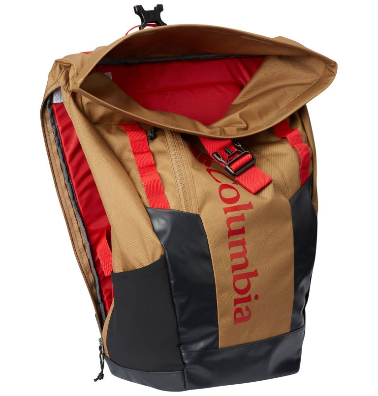 Convey™ 25L Rolltop Daypack | 258 | O/S Unisex Convey 25L Rolltop-Rucksack, Delta, Mountain Red, a1