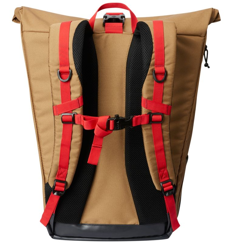 Convey™ 25L Rolltop Daypack | 258 | O/S Unisex Convey 25L Rolltop-Rucksack, Delta, Mountain Red, back