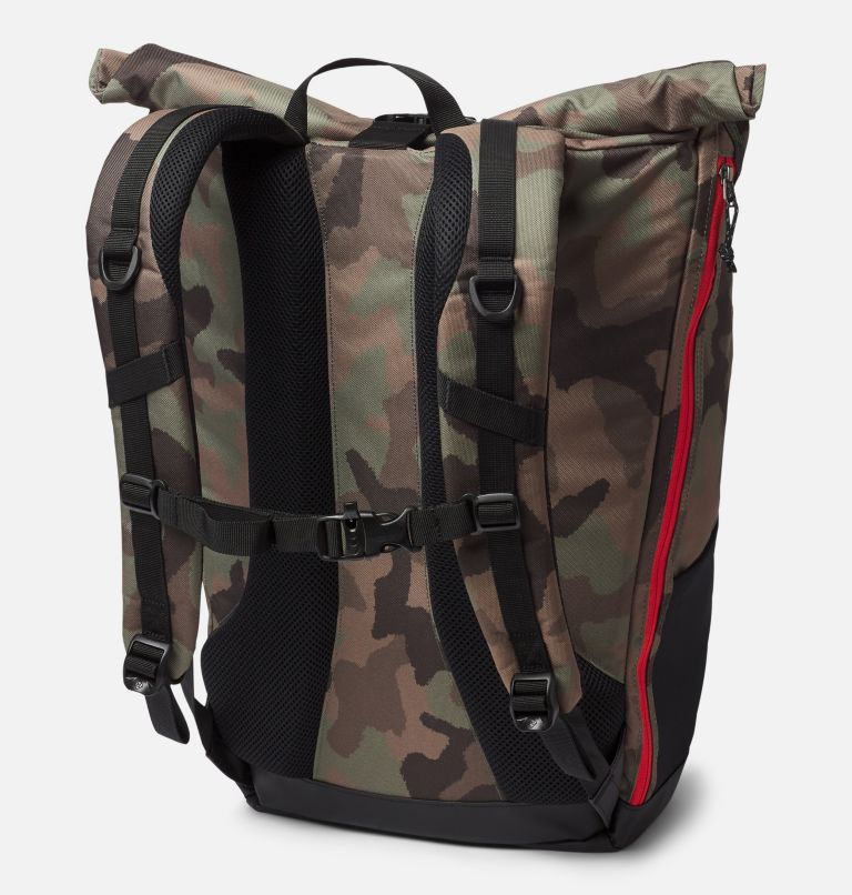 Convey™ 25L Rolltop Daypack | 316 | O/S Unisex Convey 25 Liter Rolltop Daypack, Cypress, back