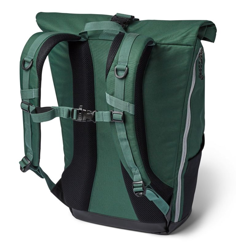 Convey™ 25L Rolltop Daypack | 375 | O/S Unisex Convey 25 Liter Rolltop Daypack, Rain Forest, back
