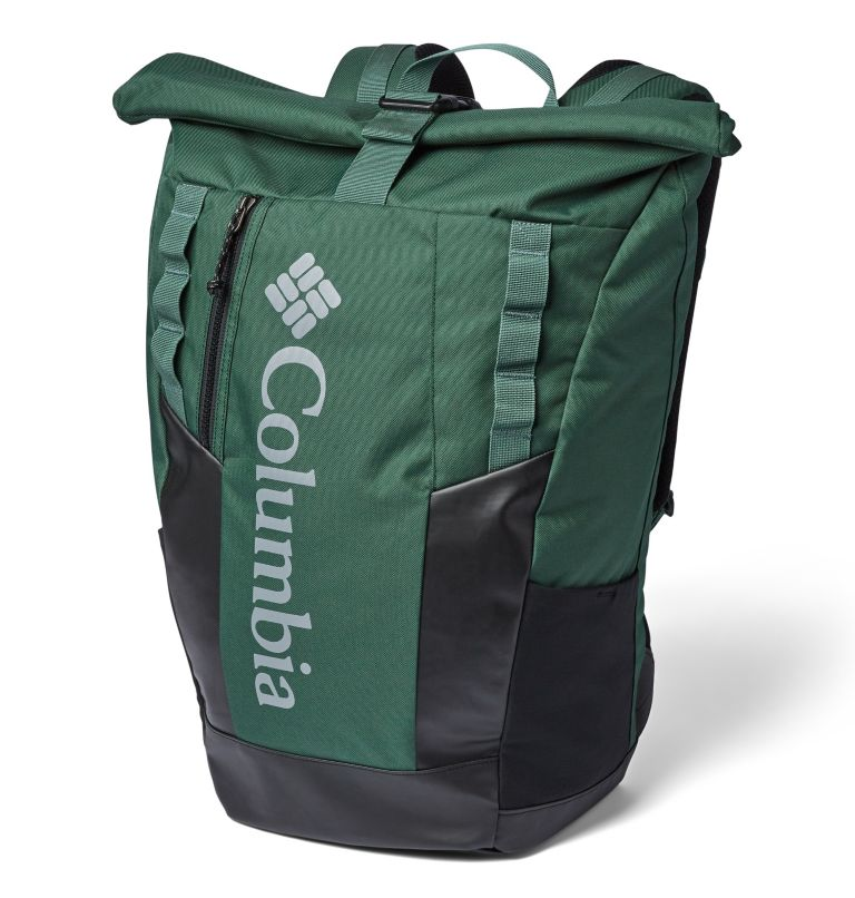 Convey™ 25L Rolltop Daypack | 375 | O/S Unisex Convey 25 Liter Rolltop Daypack, Rain Forest, front