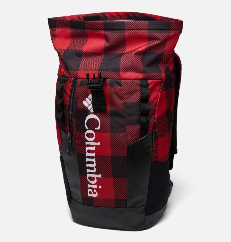 Convey™ 25L Rolltop Daypack | 613 | O/S Mochila con la parte superior enrollada unisex Convey de 25litros, Mountain Red Check Print, a1