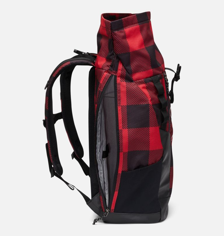 Convey™ 25L Rolltop Daypack | 613 | O/S Mochila con la parte superior enrollada unisex Convey de 25litros, Mountain Red Check Print, a2