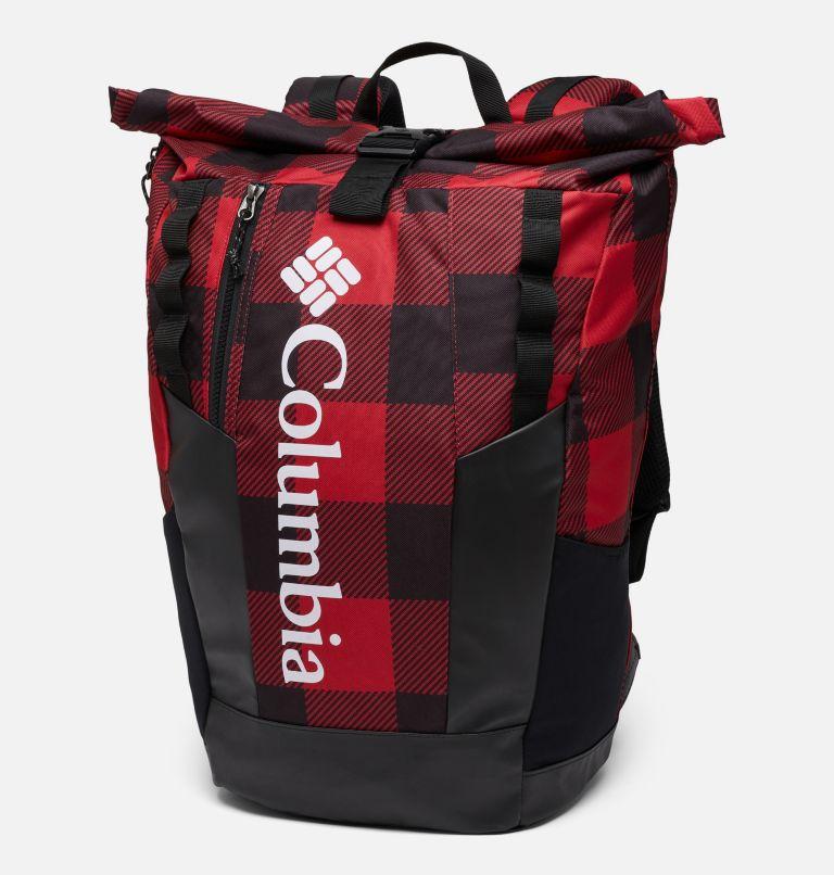 Convey™ 25L Rolltop Daypack | 613 | O/S Mochila con la parte superior enrollada unisex Convey de 25litros, Mountain Red Check Print, front