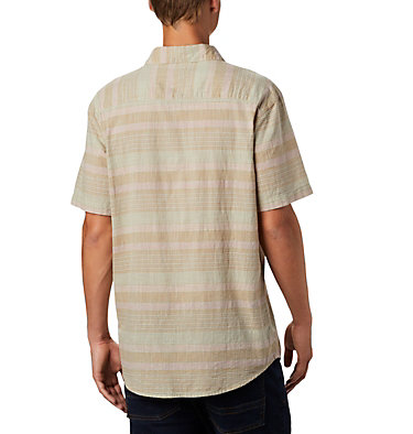 Men's Under Exposure™ Yarn-Dye Short Sleeve Shirt Under Exposure™ YD Short Sleeve Shirt | 100 | L, Pixel Stripe, back