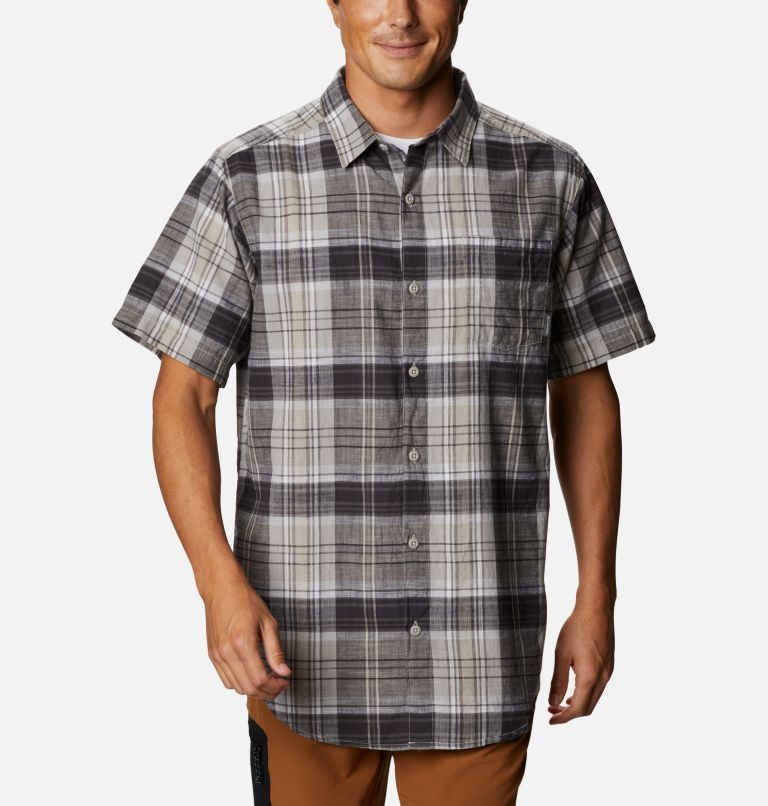 Men's Under Exposure™ Yarn Dye Short Sleeve Shirt – Tall Men's Under Exposure™ Yarn Dye Short Sleeve Shirt – Tall, front