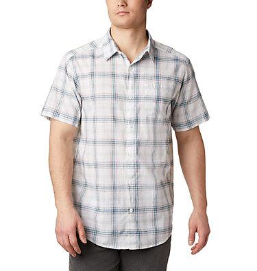 Under Exposure™ YD kurzärmliges Hemd für Herren Under Exposure™ YD Short Sleev | 440 | S, White Tartan Plaid, front
