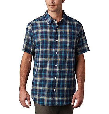 Under Exposure™ YD kurzärmliges Hemd für Herren Under Exposure™ YD Short Sleev | 440 | S, Bright Gold Tartan Plaid, front