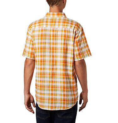 Under Exposure™ YD kurzärmliges Hemd für Herren Under Exposure™ YD Short Sleev | 440 | S, Bright Orange Multi Plaid, back