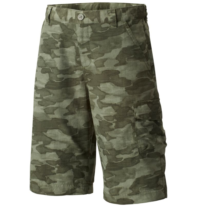 Boys' Silver Ridge™ Printed Short Boys' Silver Ridge™ Printed Short, front