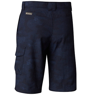 Boys' Silver Ridge™ Printed Shorts Silver Ridge™ Printed Short | 319 | S, Collegiate Navy Multi Camo, back