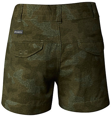 Shorts estampados Silver Ridge™ para niñas Silver Ridge™ Printed Short | 317 | XS, Cypress Multi Camo, back