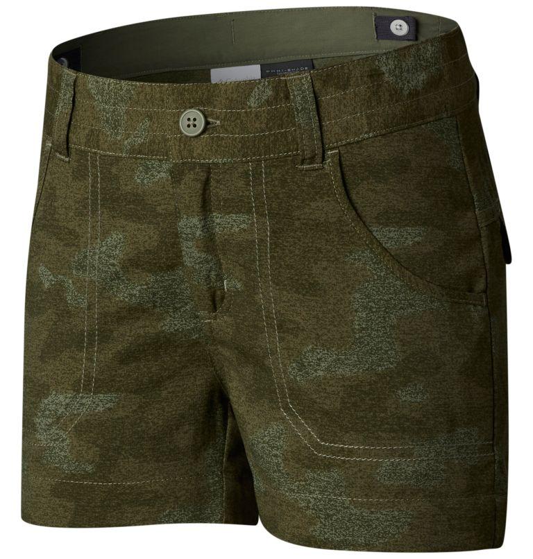 Girls' Silver Ridge™ Printed Shorts Girls' Silver Ridge™ Printed Shorts, front