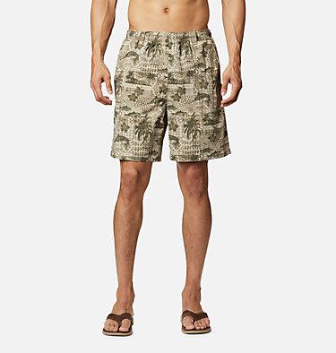 Men's PFG Super Backcast™ Water Shorts Super Backcast™ Water Short   359   S, Fossil Polynesian Print, front