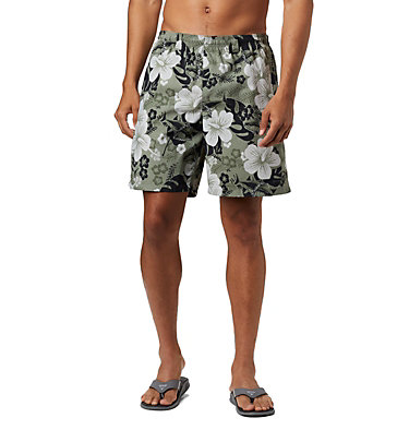 Men's PFG Super Backcast™ Water Shorts Super Backcast™ Water Short   359   S, Cypress Katuna Vibes Print, front