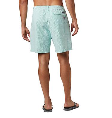 Men's PFG Super Backcast™ Water Shorts Super Backcast™ Water Short   359   S, Dark Lime Seersucker, back
