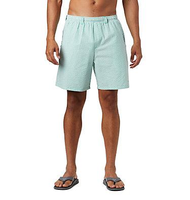 Men's PFG Super Backcast™ Water Shorts Super Backcast™ Water Short   359   S, Dark Lime Seersucker, front