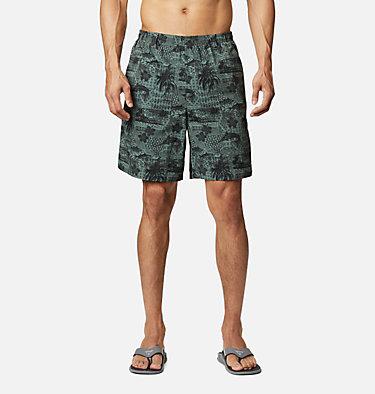 Men's PFG Super Backcast™ Water Shorts Super Backcast™ Water Short   359   S, Pond Polynesian Print, front
