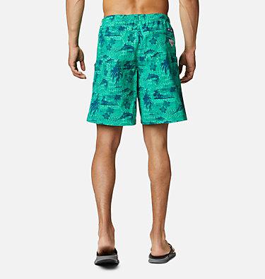 Men's PFG Super Backcast™ Water Shorts Super Backcast™ Water Short   359   S, Winter Green Polynesian Print, back